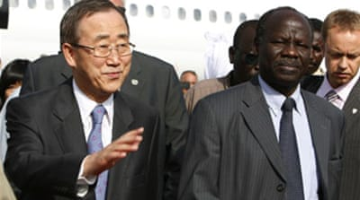 UN chief urges Sudan to seek peace