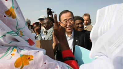 UN chief on peace mission to Darfur