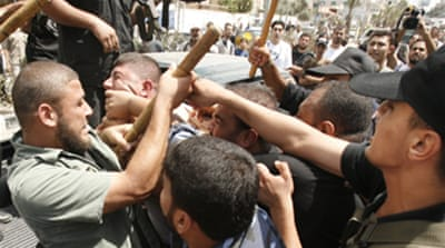 Hamas clashes with Gaza worshippers