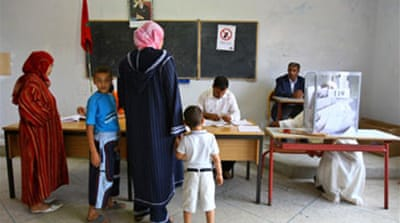 Conservative party in Morocco win