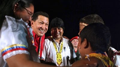 Chavez 'hears from Colombia rebels'