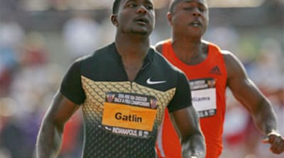 Gatlin hit with four year ban