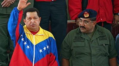Chavez says hostage release back on