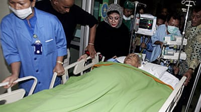 Suharto still in critical condition