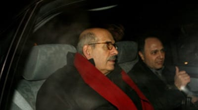 ElBaradei in Iran for nuclear talks