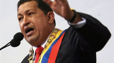Chavez defends Colombia rebels
