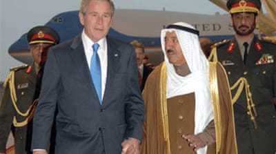 Bush seeks Arab support