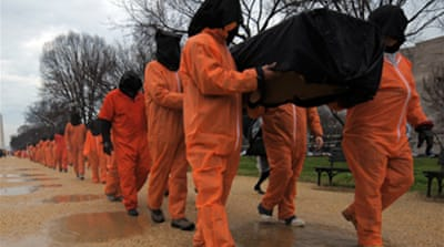 Guantanamo protesters arrested