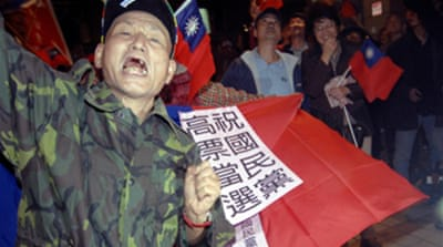 Big win for Taiwan opposition