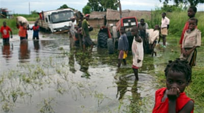 Mozambique faces flood fury