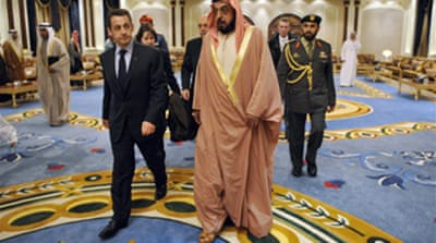 France to get military base in UAE