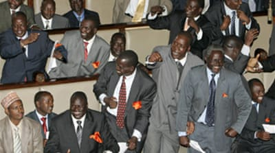 Kenya opposition wins speaker vote