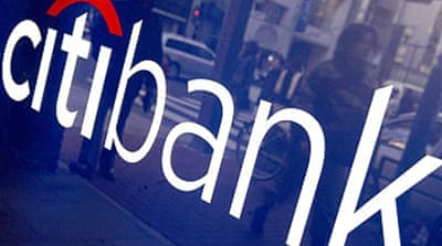Citigroup announces $10bn loss