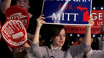 Romney wins in Michigan