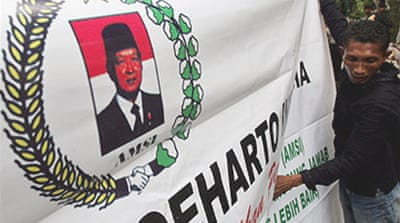 Suharto 'showing no improvement'