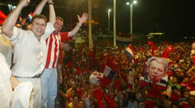 Paraguay ruling party in fraud row