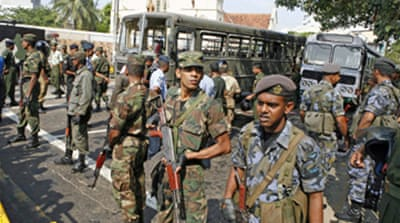 Colombo bombing kills soldiers