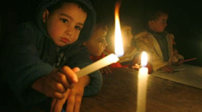 Gaza blackout blamed on Israel