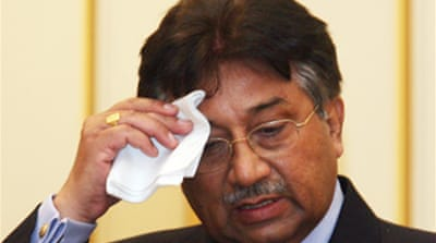 Musharraf seeks support in Europe