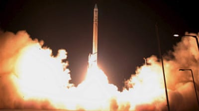 Iran launches 'space' rocket