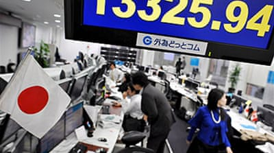Asian markets continue slide