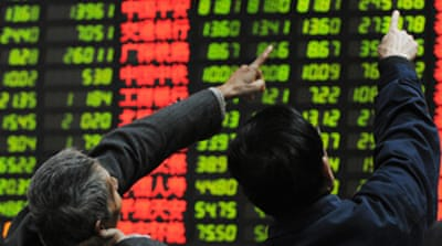 Asian stocks plunge for second day