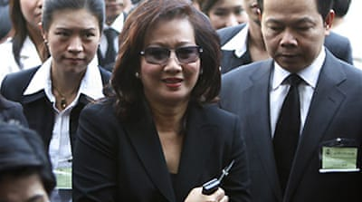 Thaksin's wife goes on trial
