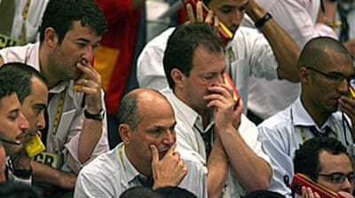 Markets fall over US recession fear