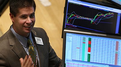US stocks rally in volatile market