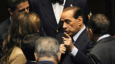 Italian leaders begin crisis talks