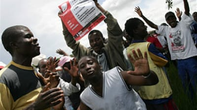 Zimbabwe poll date riles opposition