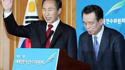Korea president-elect names new PM