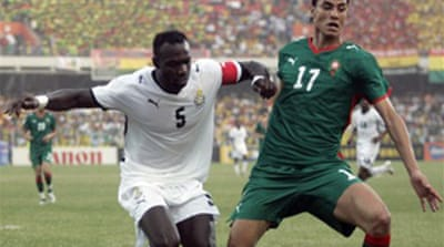 Ghana go into semi without captain