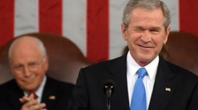 Bush's union speech criticised