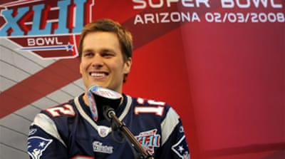 Brady's ankle fine for Super Bowl