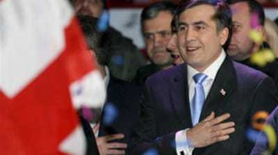 Saakashvili wins Georgia election
