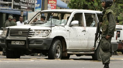 Minister killed in Sri Lanka blast