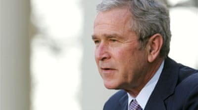 Bush due to arrive in Middle East
