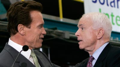 McCain wins Schwarzenegger backing