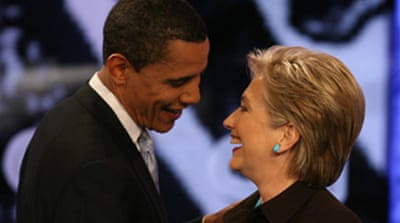 Clinton and Obama hold key debate