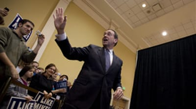 Huckabee wins Kansas vote