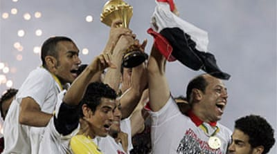 Egypt down Cameroon to rule Africa
