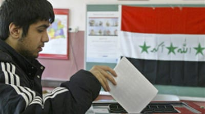 Iraq sets date for provincial polls
