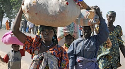 Darfur refugees' passage 'blocked'