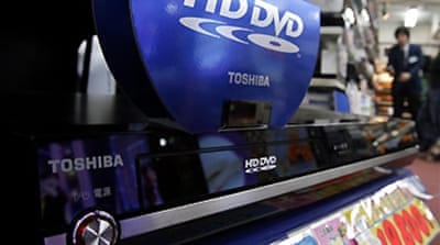 Toshiba 'may quit DVD format war'
