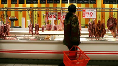 China inflation hits new high