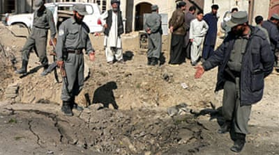 Afghan city hit by car bomb