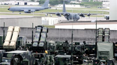 Crackdown on US military in Japan
