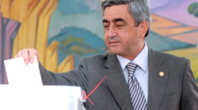 Armenian PM wins presidency