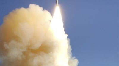 US missile hits rogue spy satellite